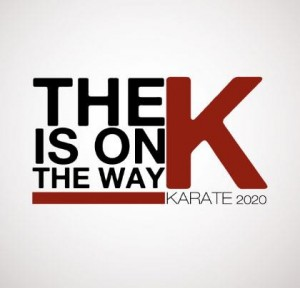 K is on the way - karate 2020