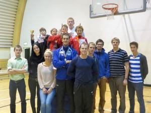 Falco Cup 2013 medalistid ja abilised
